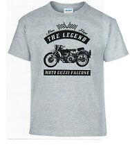 T-shirt, Moto Guzzi falcone, Bike, motocicleta, Youngtimer, Oldtimer