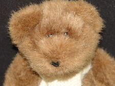 RALPH LAUREN POLO TEDDY BEAR WHITE WINTER KNIT SCARF PLUSH STUFFED ANIMAL TOY