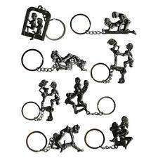 Schlüsselanhänger Sex Stellungen beweglich Metall Positionen Kamasutra