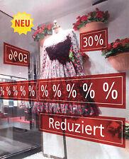 Ankleber verschiede Größen / Deko Werbung Aufkleber Schild Plakate Preisschild