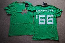 JOYSTICK Junkies CHAMPIONS'66 T SHIRT NUOVA con etichetta ufficiale Inghilterra Coppa del mondo WIN 1966
