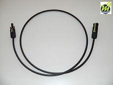 Solarkabel 6mm² mm2 TÜV, VDE schwarz mit MC4 komp.Silverline Stecker und Buchse