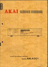 Akai Original Service Manual für AM-A 201