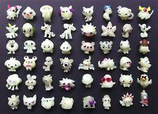 Halloween Ghost White MOSHI MONSTERS 1 - Glow in Dark Ultra Rare - Full Set 48