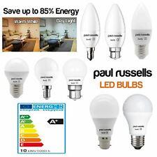 1 3 5 10 x E14 B22 E27 3W 5W 7W 12W LED GLS Candle Globe Bulbs Light  BC ES