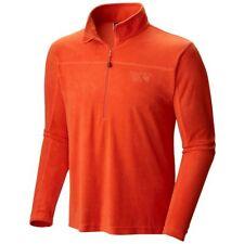 Mountain Hardwear Men's Microchill Lite Zip T Jacket, XL/XXL/(3XL) Orange - NWT!