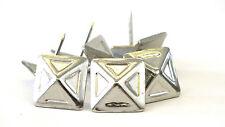 19mm SQUARE Decorativi Tappezzeria Unghie per sedie Headboards nichel * Argento