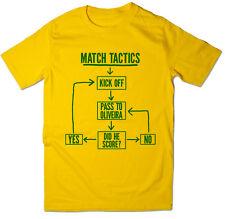 Match Tactics, Pass to Oliveira - Funny Norwich FC Football T-shirt