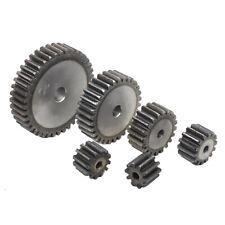 1.5Mod 24T Metal Spur Gear Pinion Gear 45# Steel Motor Gear 1.5M24T Bore 6-15mm