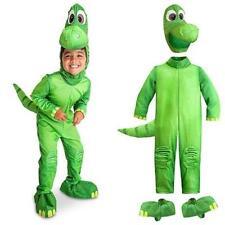 Disney Store ARLO The Good Dinosaur COSTUME Dress Up BOYS Halloween Plush Green