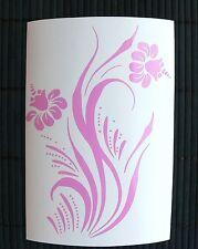 adesivo fiore flower vinile casa camper wall sticker auto scooter vetro window