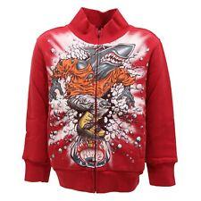 1819T felpa bimbo rosso scuro MAUI & SONS felpe kid sweatshirt