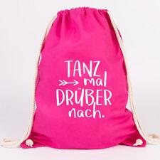 """JUNIWORDS Turnbeutel Motiv /""""Live Laugh Love/"""" ver Farben Geschenk Tasche Spruch"""