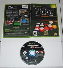 XBOX - VIRTUAL POOL tournament edition - OTTIMO PAL ITA Torneo edizione