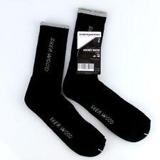 Ice Skate Socks, Black, Sher-Wood Pro Hockey Skate foot socks Pack of 2 pairs