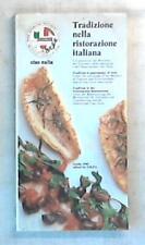 38447 Tradizione nella ristorazione italiana / Ordine ristoratori professionisti