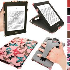 Floreale Farfalla Design Custodia Pelle PU per Amazon Kindle Paperwhite Cover Stand