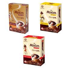 Korean Instant Coffee Mix Maxim Soft Black Mix 100 Sticks Original Mocha Arabica