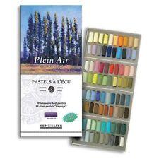 Sennelier Soft Pastel Set - Half Length - 80 Landscape Colours
