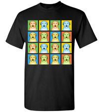 Scottish Deerhound Cartoon Pop T-Shirt - Men Women Youth Tank Short Long Sleeve