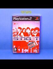 Disney SING IT: High School Musical 3 (nos années lycée) -Jeu PS2 Neuf- SingStar