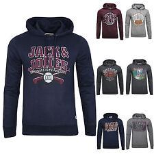 Jack & Jones Herren Hoodie Kapuzenpullover Sweatshirt PRINT NEU!