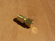 Perno De Latón Compresión Recto Neumático Compresor De Aceite hidráulico de gas de montaje