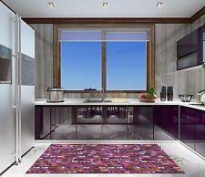 3d Purple Gem Wall 743 KITCHEN MAT FLOOR WALL PRINT Wall AJ Wallpaper de Carly