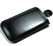 Leder Handytasche für Samsung Smartphone Slimcase Schutzhülle Etui Cover
