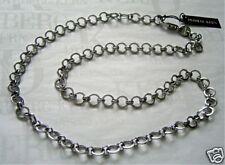 Dyrberg Kern Chain MAGENA SHINY SILVER KALEIDOSCOPE 80