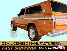 1977 1978 Cherokee S SJ Decals Stripes Stickers Kit