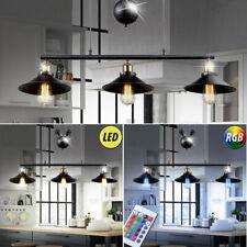 rustique LED éclairage suspendu Plafonnier RGB télécommande hauteur réglable