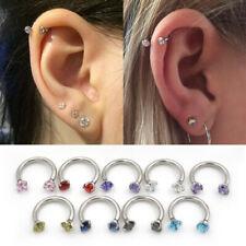 Nose Ring Nose Hoop Cartilage Earrings Lip Ear Piercing Ring Jewelry   Septum
