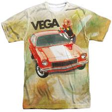 CHEVY VEGA WATERCOLOR Bold Front Print Men's Tee Shirt SM-3XL
