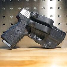 Kydex Concealment IWB Gun Holster BLACK CARBON FIBER For Colt, CZ, FN Handguns
