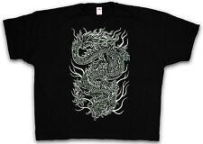 4xl & 5xl Chinese Dragon T-SHIRT-TATTOO Asia Drago Giappone T-Shirt XXXXL XXXXXL