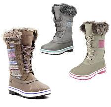 Girls Winter Boots Northside Bishop Jr. Fleece Lined Knee High Snow Boots NEW