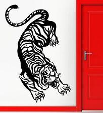 Wall Stickers Vinyl Decal Tiger Aggressive Predator Animal Decor (z2283)