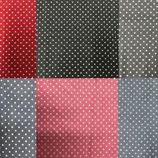 100% algodón artesanía Coser Lunares Patchwork Material Metro Medio Metro Tela UK