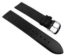 Uhrenarmband Kalbsleder Schwarz passend für Skagen, Bering und Boccia-Uhren