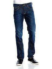 "PEPE JEANS Cash Men's Regular Fit Slim Leg Dark Denim W 28"" - W 38"""
