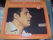 LP CELENTANANDO ADRIANO CELENTANO RECORD BAZAAR