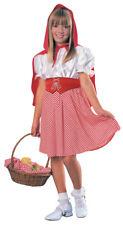 Girls Child LITTLE RED RIDING HOOD Dress Halloween Concepts Costume