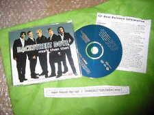 CD Pop Backstreet Boys - More Than That (5 Song) MCD JIVE + Presskit