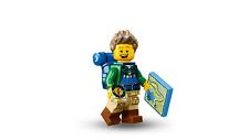 Lego hiker series 16 parts legs torso head hair backpack rucksack compass map