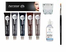 Apraise Eyebrow Eyelash Dye Professional Tint Full KitDye Available in 5 Shades
