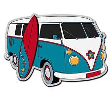 2 X Brillantes Pegatinas De Vinilo-Camper Van Vw Surf Surfing Ipad Laptop calcomanía # 4017