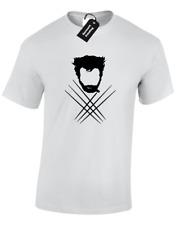 Wolverine silueta para hombre T Shirt X Diseño hombres Superhéroe Bonito Diseño S - 5XL