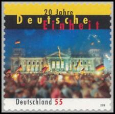 BRD MiNr. 2822 ** 20 anni unità tedesca, posta freschi, autoadesivo