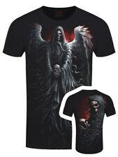 Espiral de muerte Bata Para Hombre Negro Camiseta